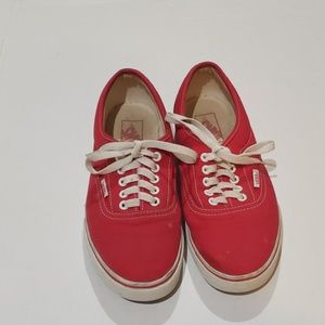 Vans Mens US 7.5 Woman Size 9
